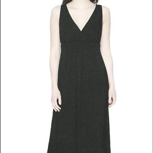 Matty M Dresses - Matty M Black Empire Waist Maxi